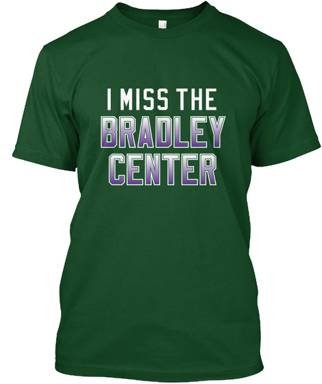Naming Wrongs: Bradley (Green/Purple) Deep Forest T-Shirt Front
