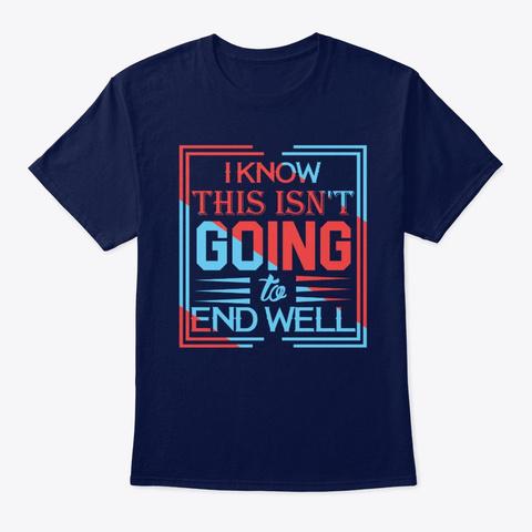 Euphoria 2 Navy T-Shirt Front