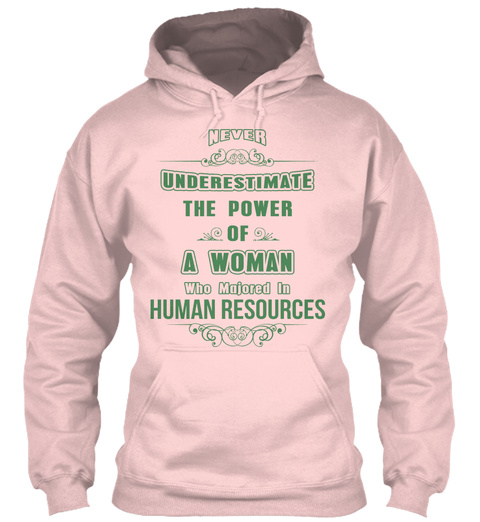 Human Resources Light Pink T-Shirt Front