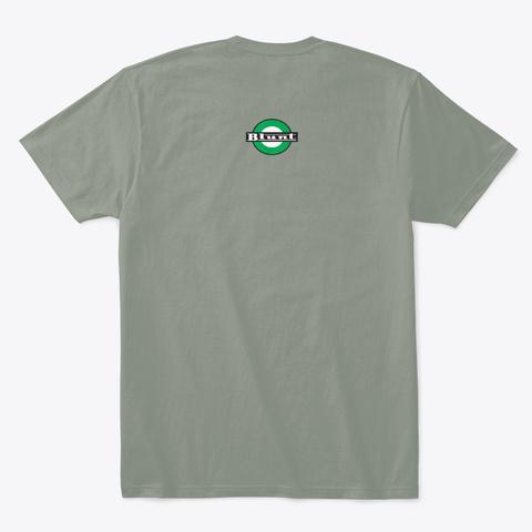 Blunt Always Fresh Tee Grey T-Shirt Back