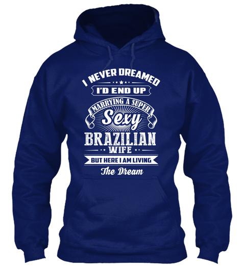 Brazilian Sexy  03 E Oxford Navy T-Shirt Front
