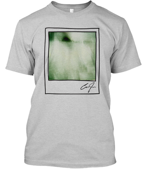 Official Corey Fogelmanis Light Steel T-Shirt Front