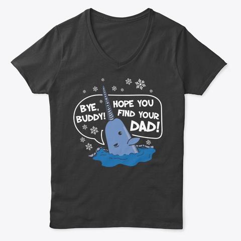 Bye Buddy Movie Shirts Black T-Shirt Front
