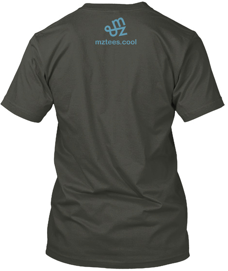 Happy Ice Smoke Gray T-Shirt Back