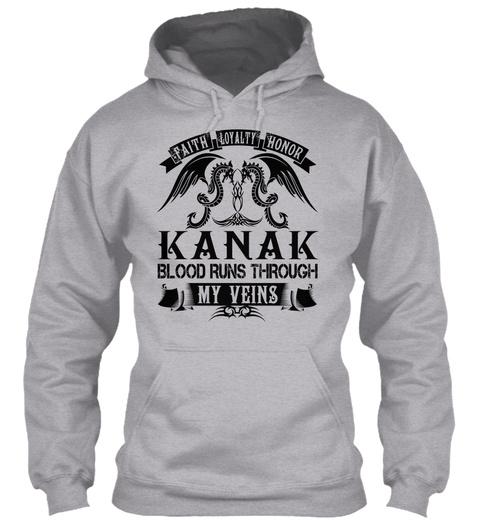 Kanak   My Veins Name Shirts Sport Grey T-Shirt Front