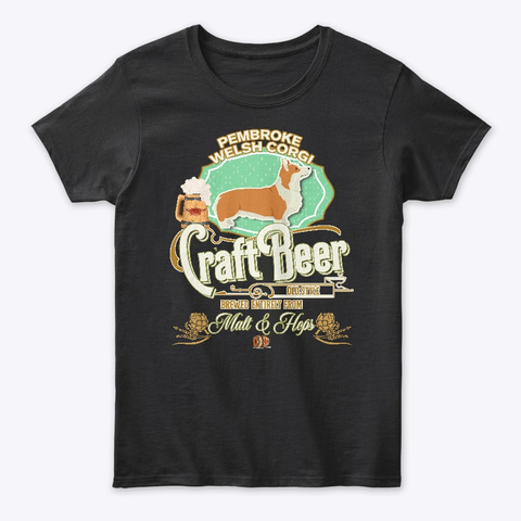 Pointers (German Wirehaired) Gifts Black T-Shirt Front