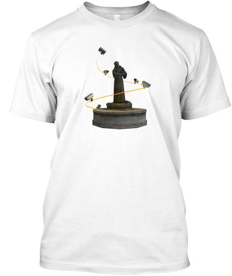 Gmzorz 2/2 [Drop #2] White T-Shirt Front
