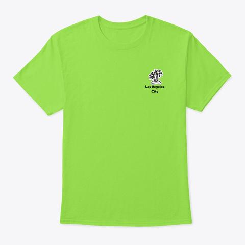 Little Palm  Lime T-Shirt Front