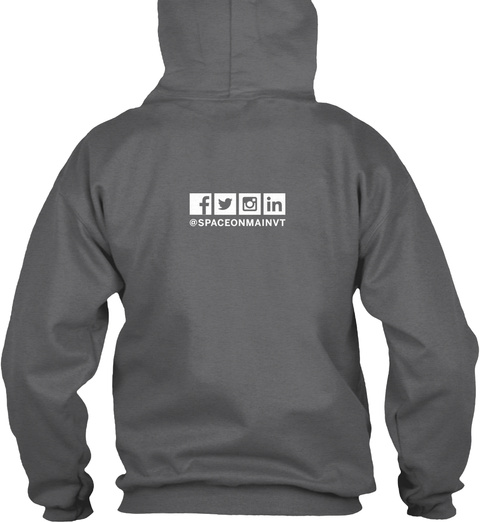 Som Kc Collaborate Hoodie Dark Heather Sweatshirt Back