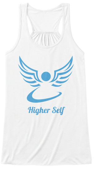 Higher Self White T-Shirt Front