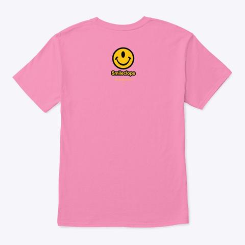 Smileclops™ Eye Love Photography Pink áo T-Shirt Back