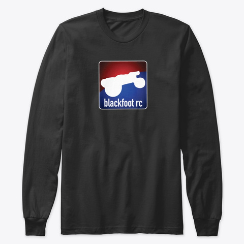 Blackfoot Rc Apparel Black T-Shirt Front