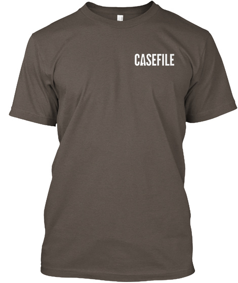 Casefile Coffee T-Shirt Front