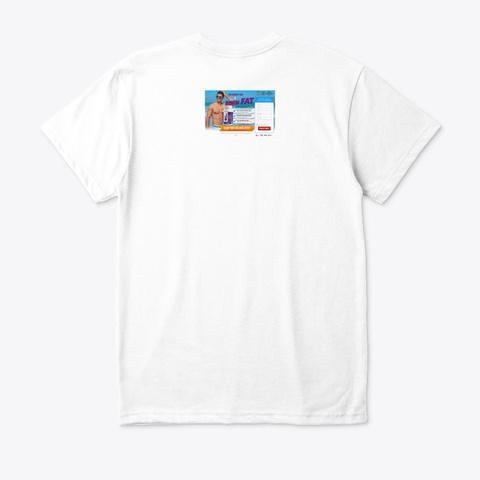 Keto Premiere White T-Shirt Back
