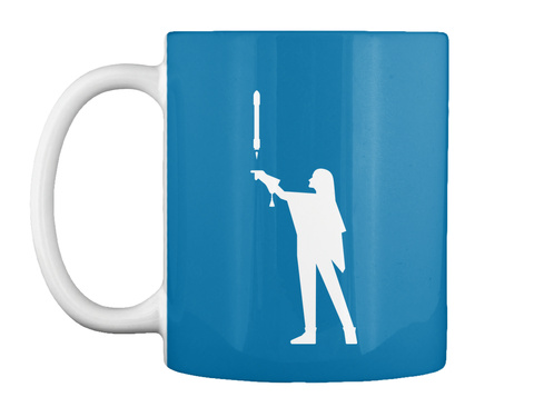 Falconer 3 Woman Mug [Int] #Sfsf Royal Blue Mug Front