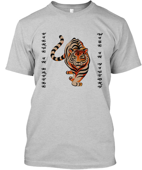 F I E R C E  I N  B A T T L E W I S E  I N  V I C T O R Y Light Steel T-Shirt Front