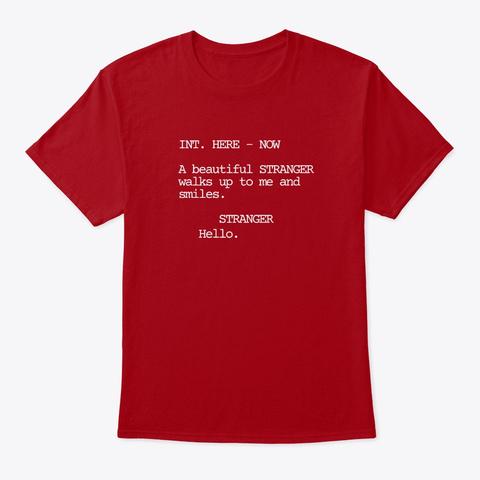 Beautiful Stranger Deep Red T-Shirt Front