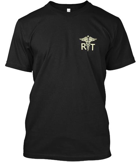 R T Black T-Shirt Front