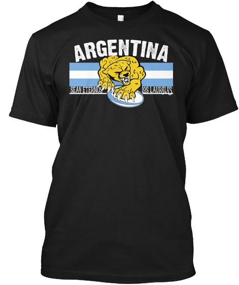 Argentina Sean Eternos Los Laureles Black T-Shirt Front