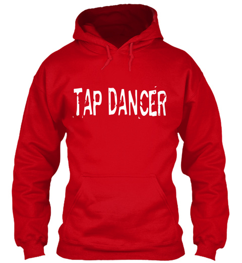 Tap Dancer Red T-Shirt Front
