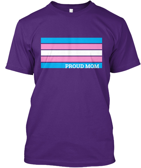 Proud Mom Purple T-Shirt Front