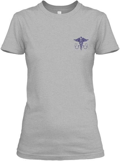 Proud Er Nurse Shirt Sport Grey T-Shirt Front