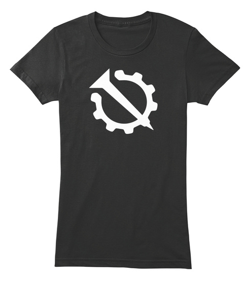 Nail And Gear   Hello Internet Black Women's T-Shirt Front