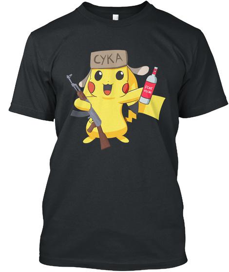 Cyka Black T-Shirt Front