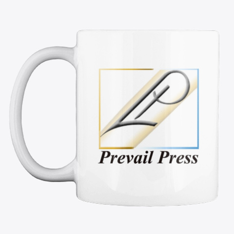 A Cuppa Prevail Press White T-Shirt Front