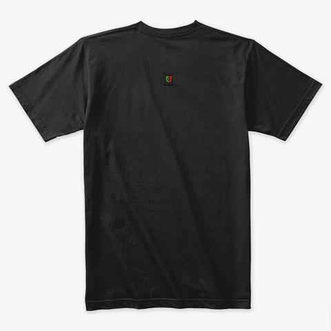 Meditate Buddha Black T-Shirt Back