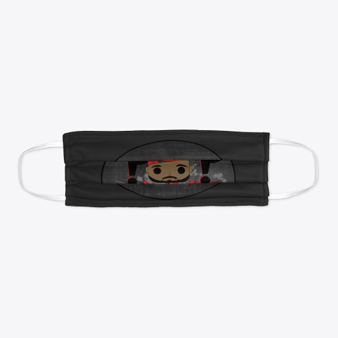 Pop Savage Mask Black T-Shirt Flat