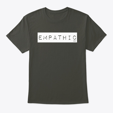 Empathic Tee Smoke Gray T-Shirt Front