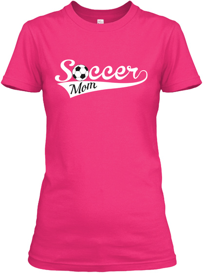 Soccer Mom Heliconia T-Shirt Front