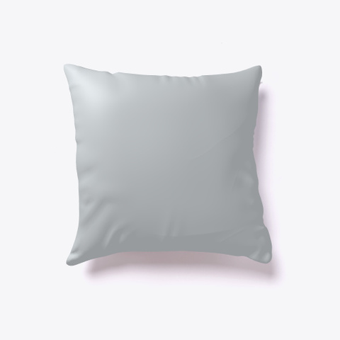 House Cushion, Pillow, Relax, Sofa Light Grey T-Shirt Back