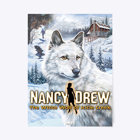 Nancy Drew:  White Wolf Of Icicle Creek Standard T-Shirt Front