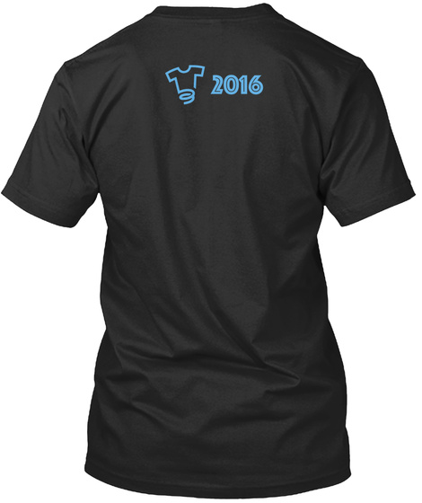 2016 Black T-Shirt Back