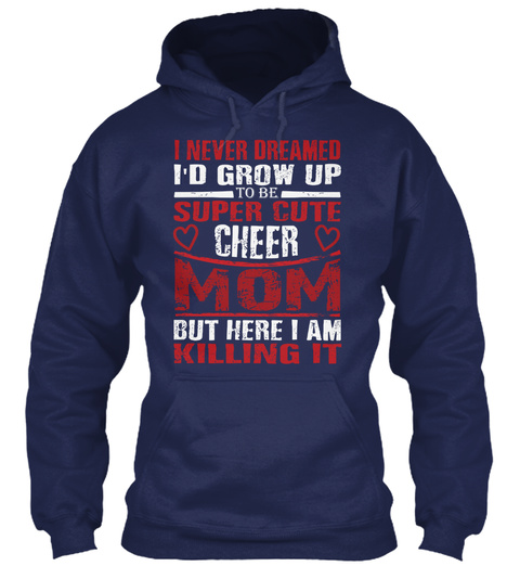 Mothers Day T Shirts ! Navy T-Shirt Front
