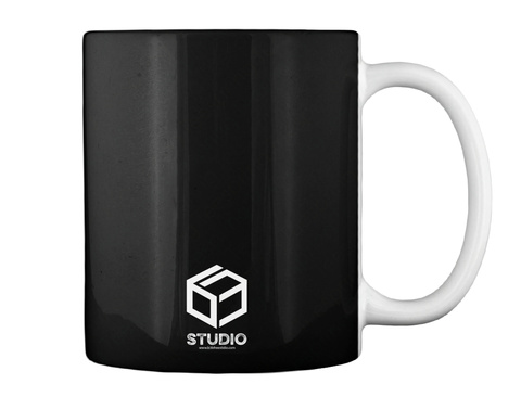 Studio Black Mug Back