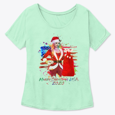 Christmas 2020 Mint  T-Shirt Front