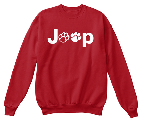 Joop Deep Red  T-Shirt Front