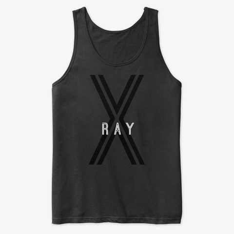 X Ray Black T-Shirt Front
