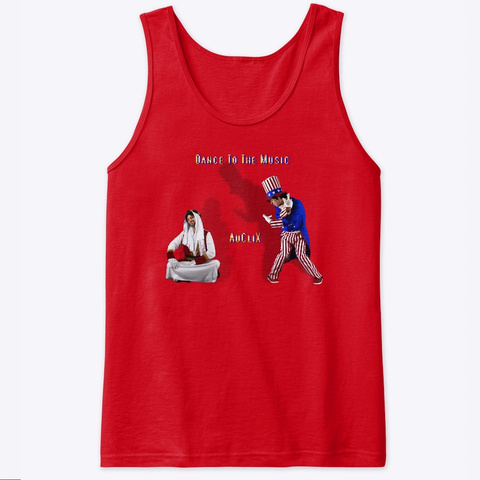 Au Cli X Is Still Dancing Red T-Shirt Front