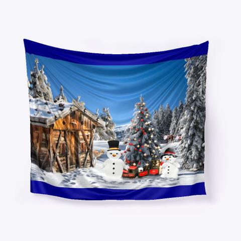 Holiday Cheer Deep Navy T-Shirt Front