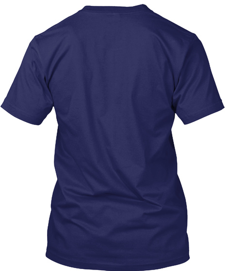 Ms Awareness Navy T-Shirt Back