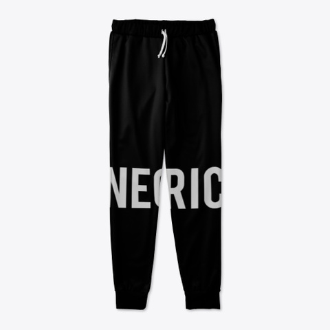 Neo Joggers  Black T-Shirt Front