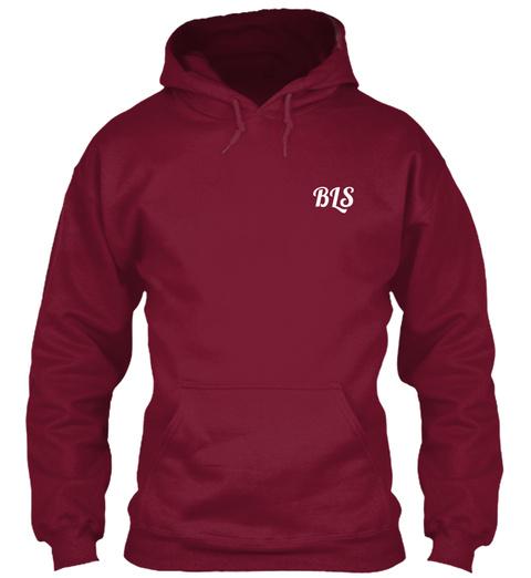 Bls Burgundy T-Shirt Front
