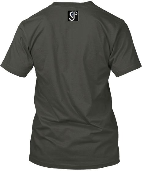 Black Ink Project  Smoke Gray T-Shirt Back