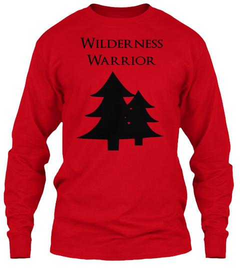 Wilderness Warrior Red T-Shirt Front