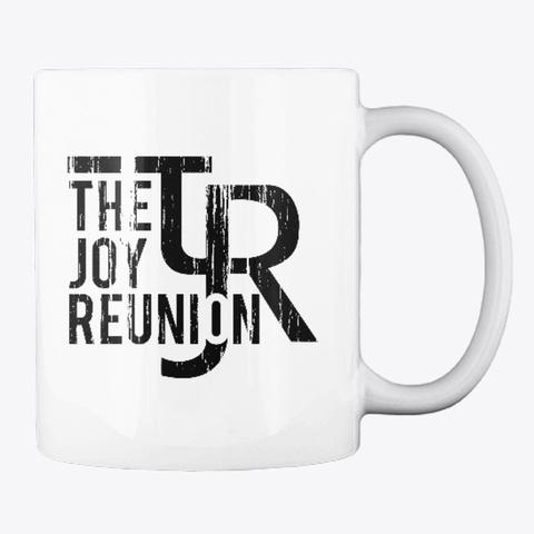 Tjr Coffee Mug White T-Shirt Back