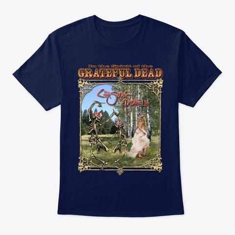 T Shirt: Chasing Ophelia Navy T-Shirt Front